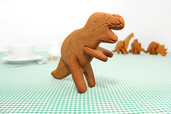 The 3-D Dinosaur Cookie Cutters