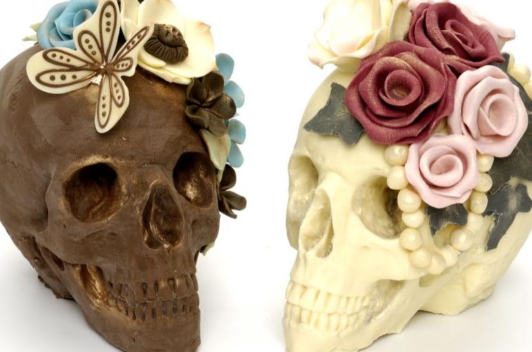 Choccywoccydoodah's Chocolate Skulls