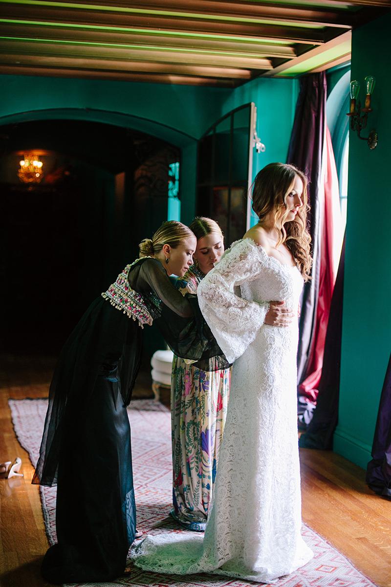 Mary-Kate and Ashley Olsen design wedding dress