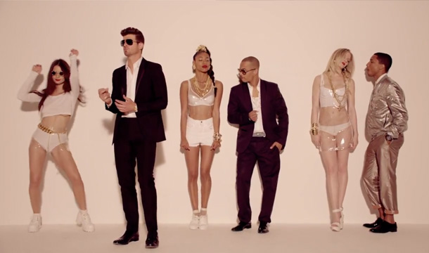 Robin Thicke hit Blurred Lines is the UK's most downloaded song