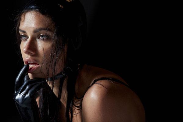 Adriana Lima shot by Steven Meisel for the Pirelli Calendar 2015